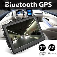 Bluetooth GPS Car 7 Inches 8GB Internal Memory Free Support MP3 Player