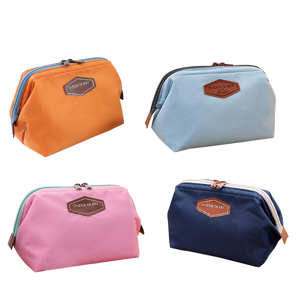 Purse Makeup-Bag Cosmetic-Pouch Handbag Travel Beauty Women Cute 88 Clutch Casual Lady