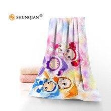 Новое пользовательское Ojamajo полотенце с принтом хлопок лицо/банные полотенца из микрофибры Ткань для детей Мужчины Женщины полотенце для душа s YT567