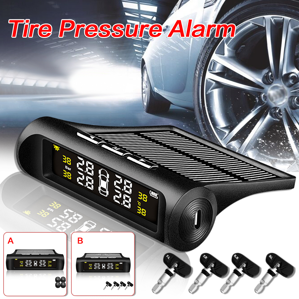 Universal car tpms Tire Pressure Detector Alarm Wireless Solar Energy Tire Pressure Monitor Automotive zhiyusun 12 1 inch touch screen 5 wire resistive usb touch panel overlay kit touch screen elo scn at flt 12 1 rad oh1