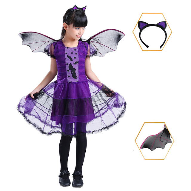 Vampire Halloween Cosplay  Costume for Girls