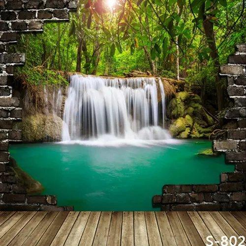 3d natural falls for