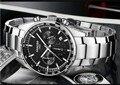 42 мм SANGDO многофункциональные японские кварцевые мужские часы с черным циферблатом  высококачественные кварцевые часы  оптовая продажа