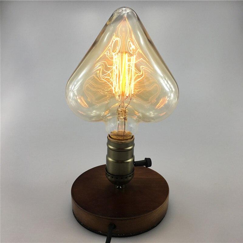 Lâmpadas Incandescentes luz edison e27 filamento pêssego Vida Média (hrs) : 6000hrs