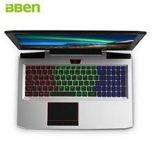 BBEN G16 15.6″ Laptop Win10 FHD1920*1080 Intel I7-7700HQ Kabylake NVIDIA GTX1060 DDR5 6G Memory 8G Ram 128G SSD 1T HDD Computer