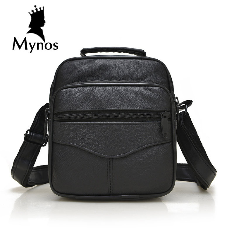 New Arrival Genuine Leather Men Bags Male Brand Designer Handbags Shoulder Vintage Retro Crossbody Bags For