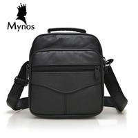 New Arrival Genuine Leather Men Bags Male Brand Designer Handbags Shoulder Vintage Retro Crossbody Bags For