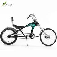 Original X Front Brand Snowmobile 4.0 Fat Tire MTB Harley travel Mountain Bike Off road gear Beach bicicleta fat bicycle