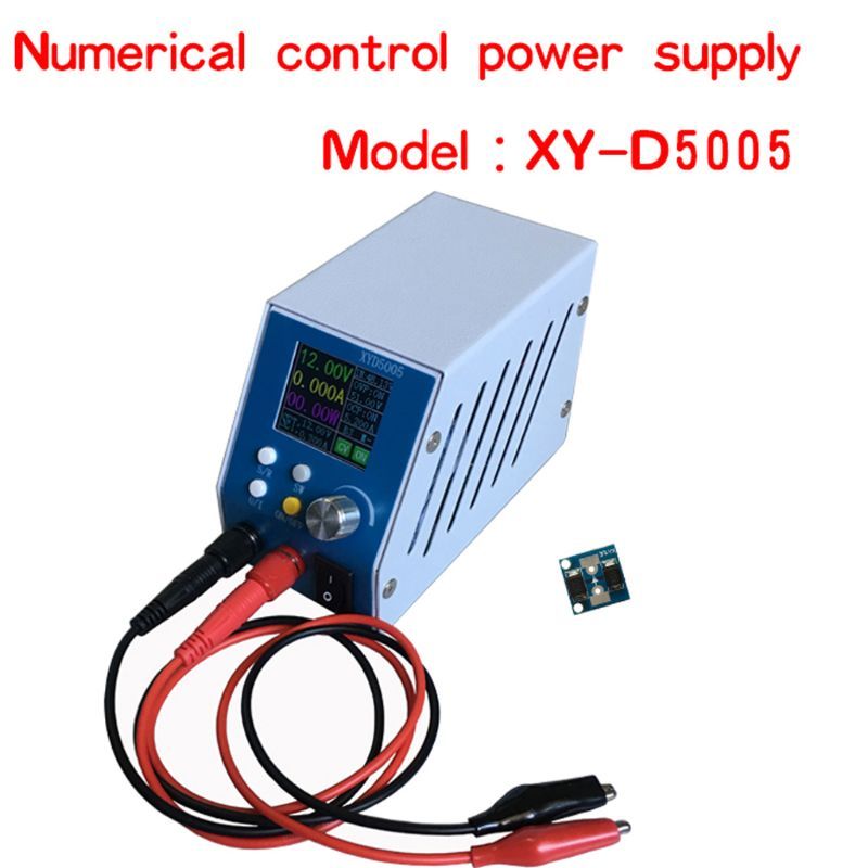 6-55V DC-DC Adjustable High Precision Digital Buck Power Supply Regulated Module Power Supply new 100pcs irfz44n irfz44 power mosfet 49a 55v to 220