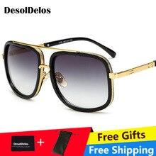 Oversized Men Sunglasses men luxury brand Women Sun Glasses Square Male Gafas de sol female sunglasses for women