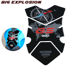 3D stickers Motorcycle Fuel Gas Tank Pad Protector Case Motorcycle stickers For BMW F650GS F650 GS 2008 2009 2010 2011 2012 цена 2017