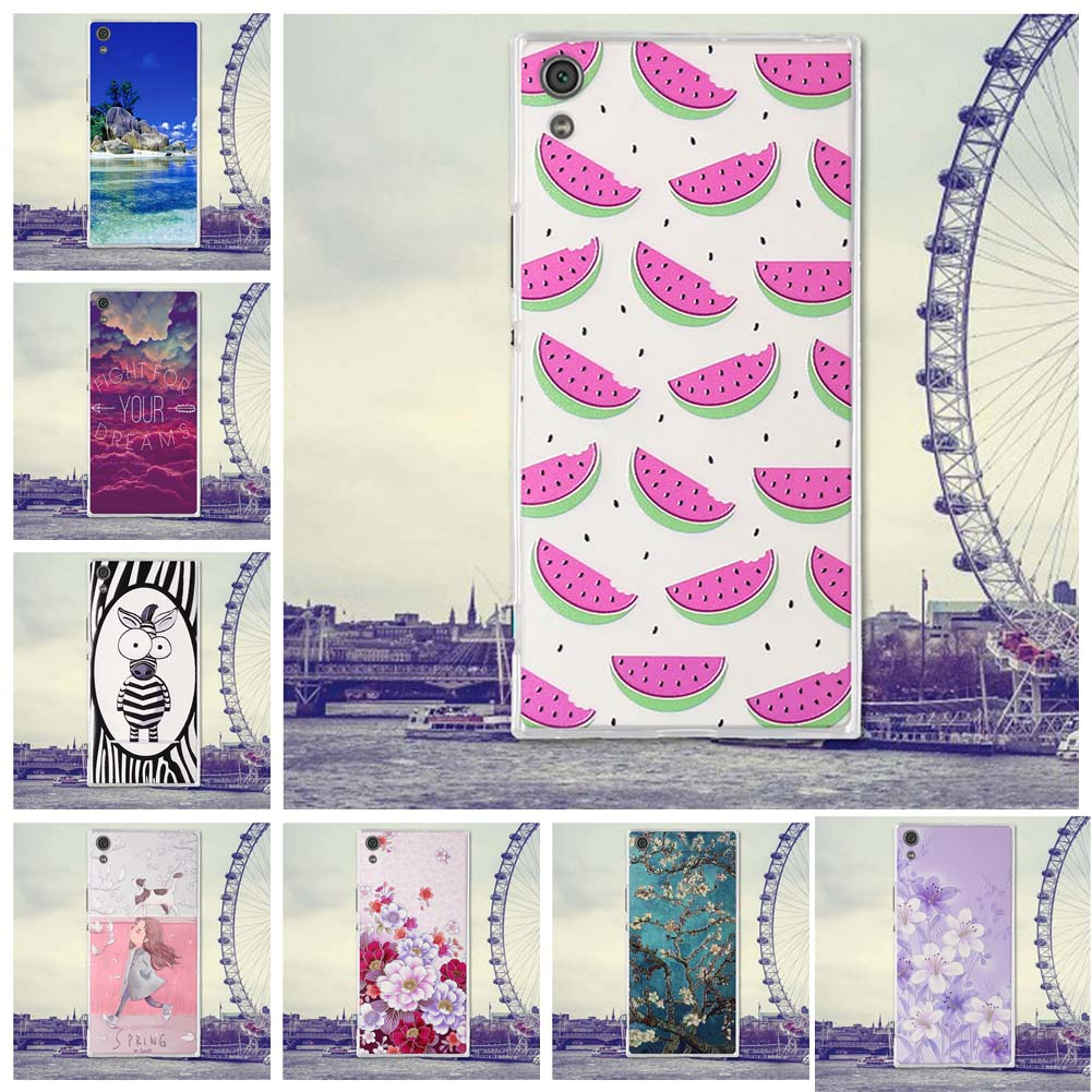 For <font><b>Sony</b></font> <font><b>Xperia</b></font> XA1 Ultra <font><b>Case</b></font> Phone Cover for <font><b>Sony</b></font> <font><b>Xperia</b></font> X <font><b>A1</b></font> Ultra Cover Soft TPU Silicone Phone Bag Squishy Shell Back Cover image