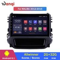 2G RAM 32G ROM 9 inch Android 8.1 Radio GPS Navigation System for 2012 2013 2014 Chevrolet Malibu