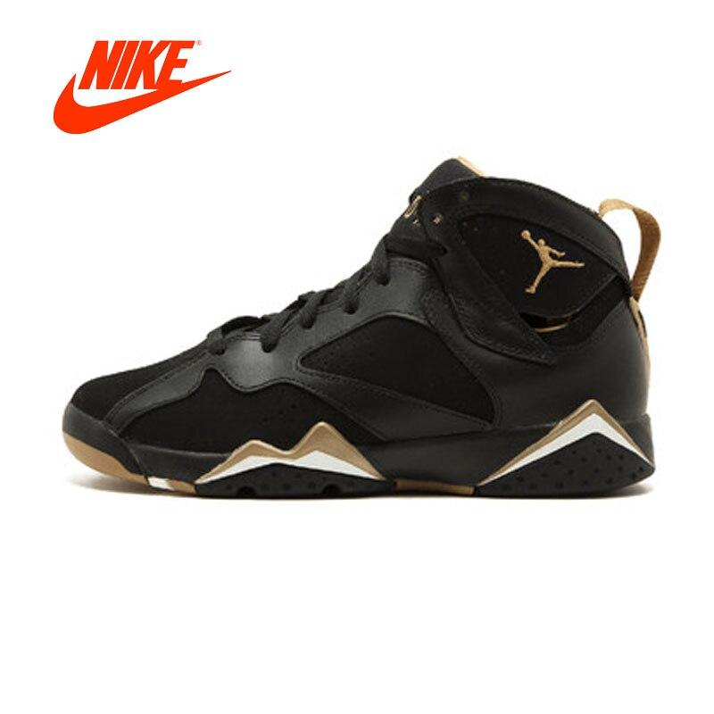 Original New Arrival Authentic NIKE Air Jordan 7 Retro (GS) Golden Moments Pack  Women's Basketball Shoes Sneakers Breathable new japanese original authentic vfr3140 5ezc