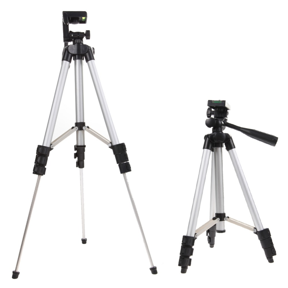 1 unids 4 secciones 105 cm trípode de cámara monopod + titular del teléfono móvil soporte del trípode con bolsa para cámara DV video teléfonos inteligentes