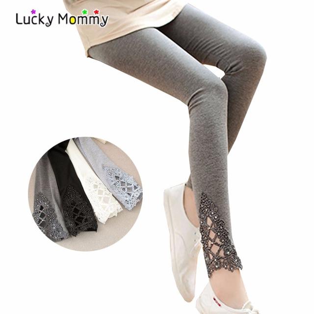 2017 Nova Primavera Outono Leggings Maternidade para As Mulheres Grávidas Plus Size Gravidez Roupas para Premama Maternidade Pants 4 Cores