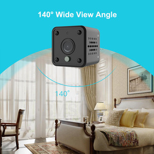Image 4 - Security IP Camera 1080P Battery Power 140 Degree Night Vision Audio Reording 2MP Wireless WIFI Mini Camera Tuya Smart Life