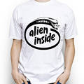 [MASCUBE] Creative Cool Alien Inside T Shirt For Both Men And Women