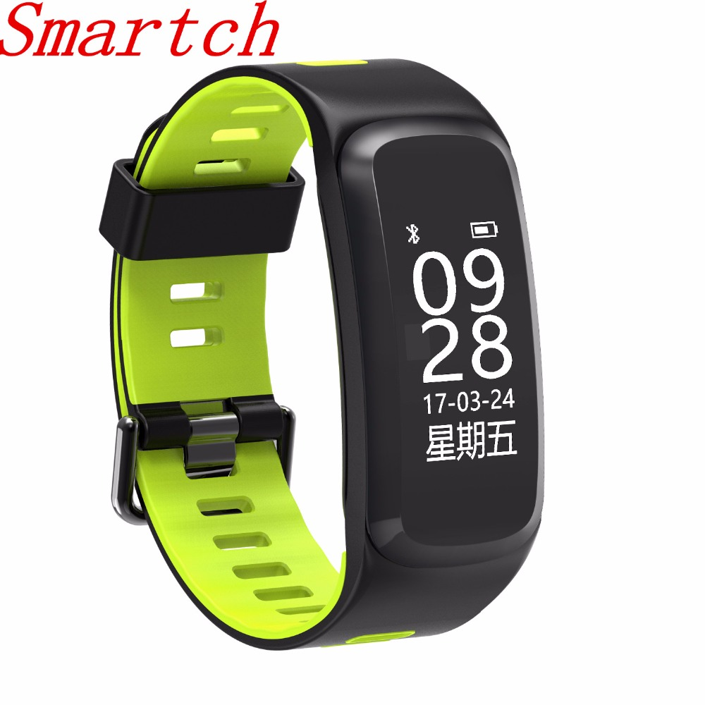 696 F4 Smart Fitness pulsera sangre oxígeno Monitor de ritmo cardíaco presión arterial IP67 Smart band dormir Tracker para IOS Androi