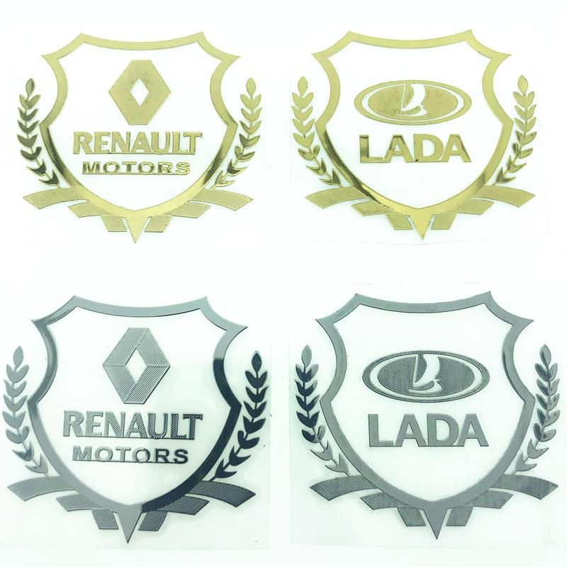 2 шт. 3D Металлическая Автомобильная наклейка эмблема значок чехол для Lada Opel Infiniti Lexus Suzuki Cadillac Chrysler Skoda Volvo Fiat автомобильный Стайлинг