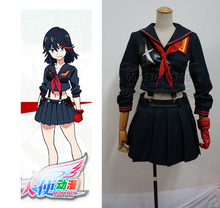 Matar la matar Matoi Ryuuko cosplay para meninas anime roupas uniforme  escolar Japonês saia terno traje de Carnaval Costume 41f7026306c0