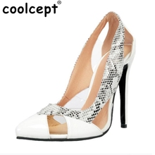 Size 34-47 High Heels Shoes Women Pumps Fashion Pointed Toe Party Leisure Thin Heels Shoes Party Soft Slip-On Footwear