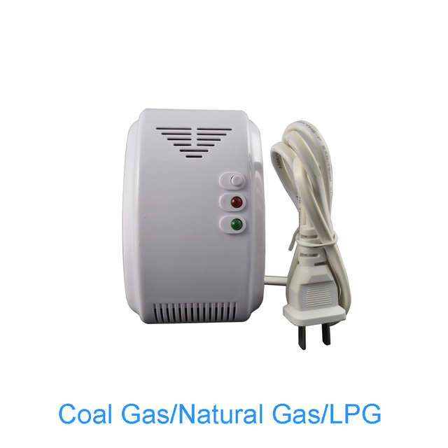 (10 PCS) 220VAC Standalone Natural Gas Alarm Coal gas Leaking detector NC/NO relay Output can network Fire Alarm sensor