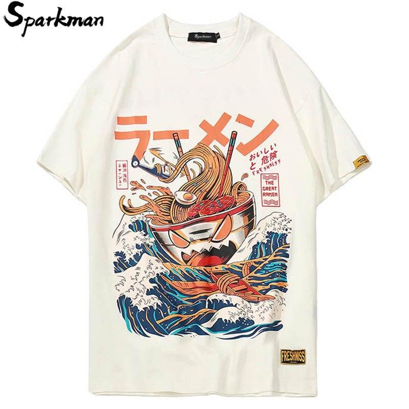Summer 2018 Tshirt Japanese Cartoon 3d Print Short Sleeve   T     Shirts   Streetwear Fashion Casual Men Hip Hop   T  -  shirt   Retro Tops Tees