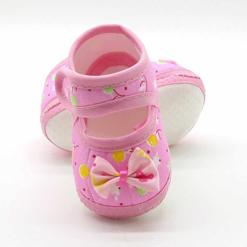 SAGACE Prewalker Shoes Baby Girls Boys Bow Cute Anti-Slip Toddler Prewalker Shoes Infant Boys Soft Sole Baby Prewalker Shoes