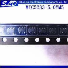 MIC5233 5.0YM5 MIC5233 5.0 L350 SOT23 5 20 pcs/lot Livraison Gratuite