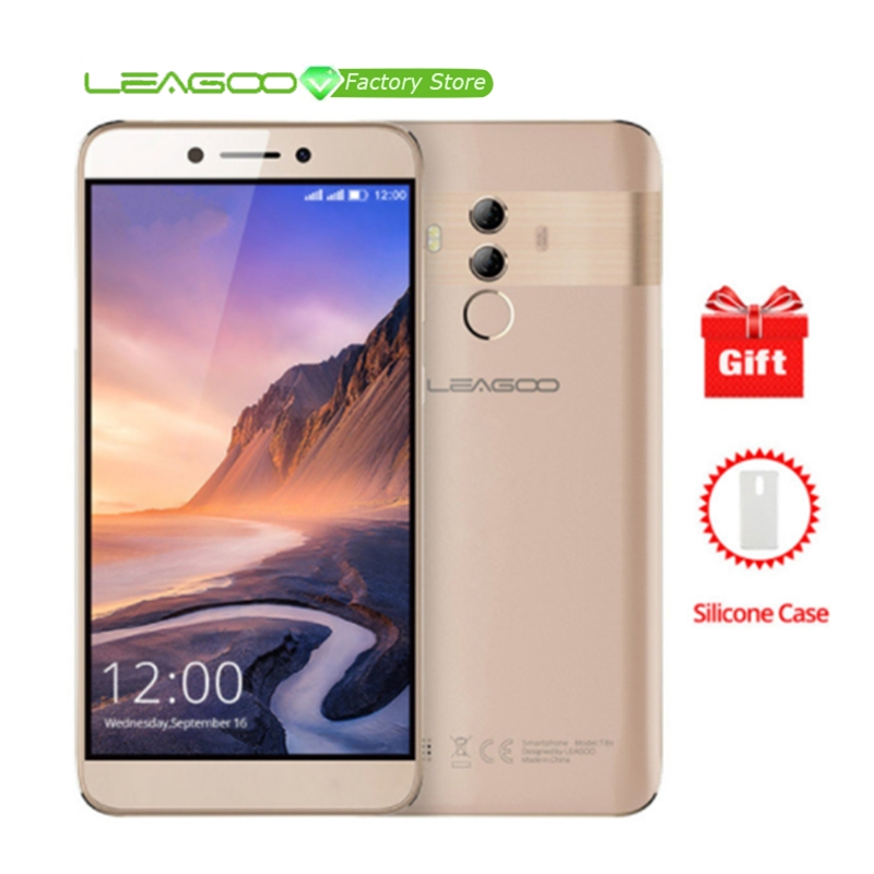 LEAGOO T8S 5 5 FHD IPS 16 9 display 4G Smartphone MTK6750T Octa Core 4GB RAM