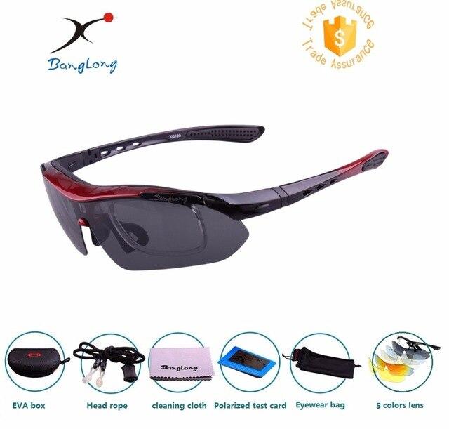 a7cf6cb0d97e 2017 FREE SHIPPING Hot Sale Cycling Glasses UV400 5 Lens Sunglasses Bicycle  Goggles Bike Eyewear Man and women sun glasses
