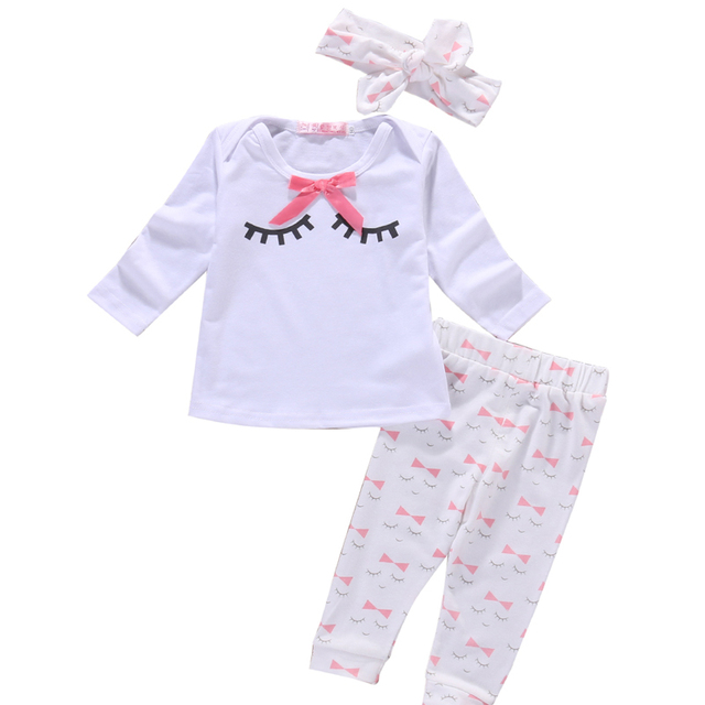 f075e9bb5744 2018 Infant Toddle Baby Girl Clothes Newborn Girls Clothing Sets ...