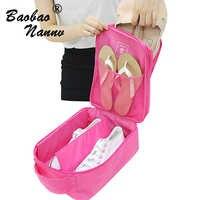 4 couleurs sacs de voyage portables pour hommes femmes imperméable multifonction Durable en Nylon organisateur sac chaussure tri pochette de rangement