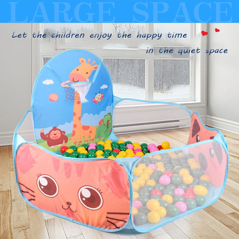 Three Color foldable Funny Children Kids Play Tent Pit Pool Game Kids Play house Set Toy Baby Gifts Childrens Lodge