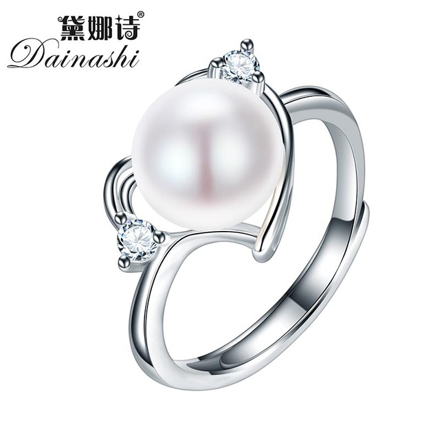 Dainashi 2017 Hot Selling 925 Sterling Silver Ring For Women love Ring 9-10 mm G