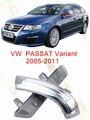 Para volkswagen vw passat variant b6 3c5 2005/06/07/08/09/10/11 led estilo do carro espelho lateral com indicador sinais de volta luzes