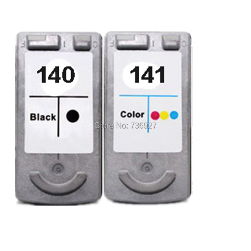 One Set Remanufactured Ink Cartridge PG140 CL141 PG-140 CL-141 For Canon PIXMA MG4110 MG3210 MG3510 MG474 printer