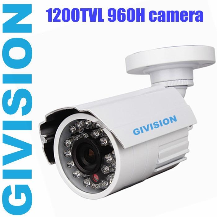 Security CCTV Camera 1200TVL 720p SONY Outdoor 960h video surveillance infrared ir nightvision weatherproof cameras de seguridad