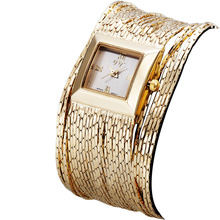 Women s Quartz Stainless Steel Watch Water Resistant 2015 Golden Silver Band Luxury Watch Quartz Ladies