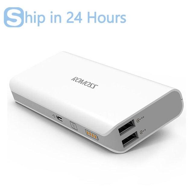 [Российские Акции] ROMOSS Смысл 4 Dual USB 10400 мАч Power Bank 18650 Портативное Зарядное Устройство Bateria наружный с ЖК-дисплей