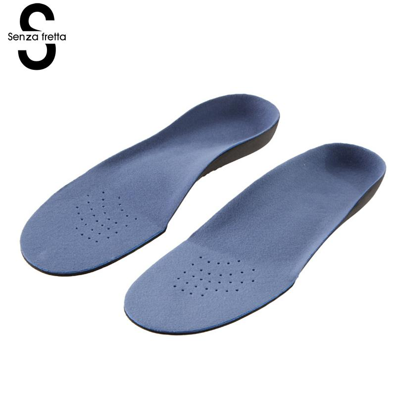 Senza Fretta Women Insoles Flat Foot Correction Eva Insole Foot Bow Correction Insoles Internal External Caret Correction фоторамка senza 20х25 см хром 956444