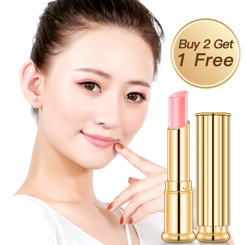 Daralis Color Change Lip Balm Pink Lips Moisture Long-Lasting Change Color Nourishing Repairing Wrinkles Brightening lips Skin lip color spanish pink