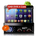 "Erisin ES3090A 7 ""HD 1Din Android 4.4.4 Quad Core Coches Reproductor de DVD GPS WiFi OBD DAB/DTV-IN"
