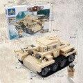 548 pcs Transporte de Montagem Brinquedos Modelo Tanque Trompetista Montado Modelo Educacional Brinquedos os Melhores Presentes para crianças RT027