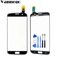 Vannego For Samsung Galaxy S7 Edge G935F G9350 Touch Screen Digitizer Glass Lens Replacement For Samsung