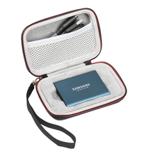 все цены на New Carrying Case for Samsung T5 T3 T1 Portable 250GB 500GB 1TB 2TB SSD USB 3.1 External Solid State Drives Storage Travel Bag онлайн