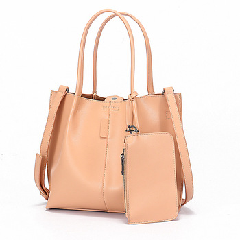 Moxi Genuine Leather Women Handbags Large Capacity Composite Bag With Phone Pocket Casual Crossbody Casual Lady Messenger Bags