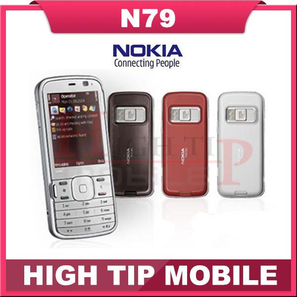 Nokia N79, 3 G 5MP WIFI GPS teléfonos celulares de marca