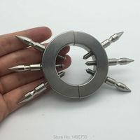 ステンレス鋼金属リングペニスロック細かいcb代替おもちゃ刺激情熱用品牽引リング同